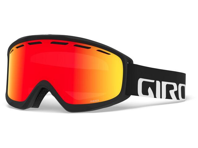 Giro Index Gafas, black/vivid ember